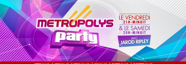 Metropolys Party 04 avril 2021 20h-22h
